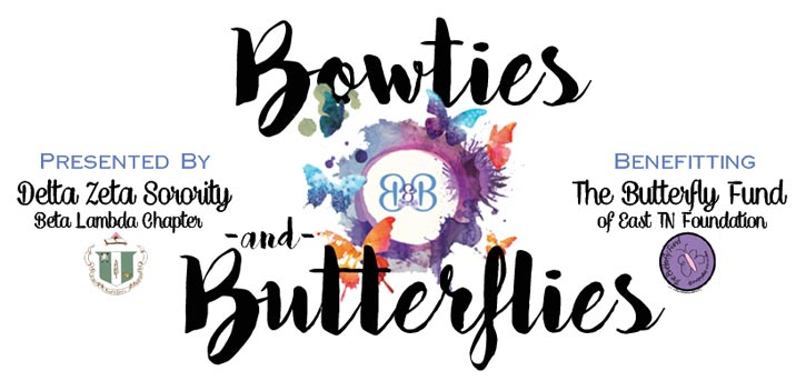 Bow Ties and Butterflies Banner