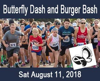 Butterfly Dash and Burger Bash